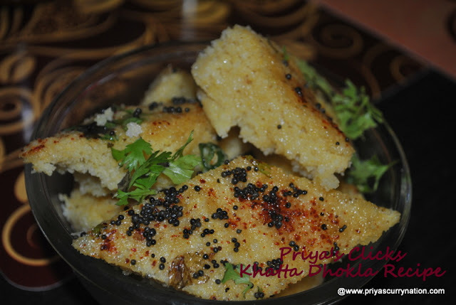 Khatta Dhokla Recipe,how to make Gujarati Khata dhokla