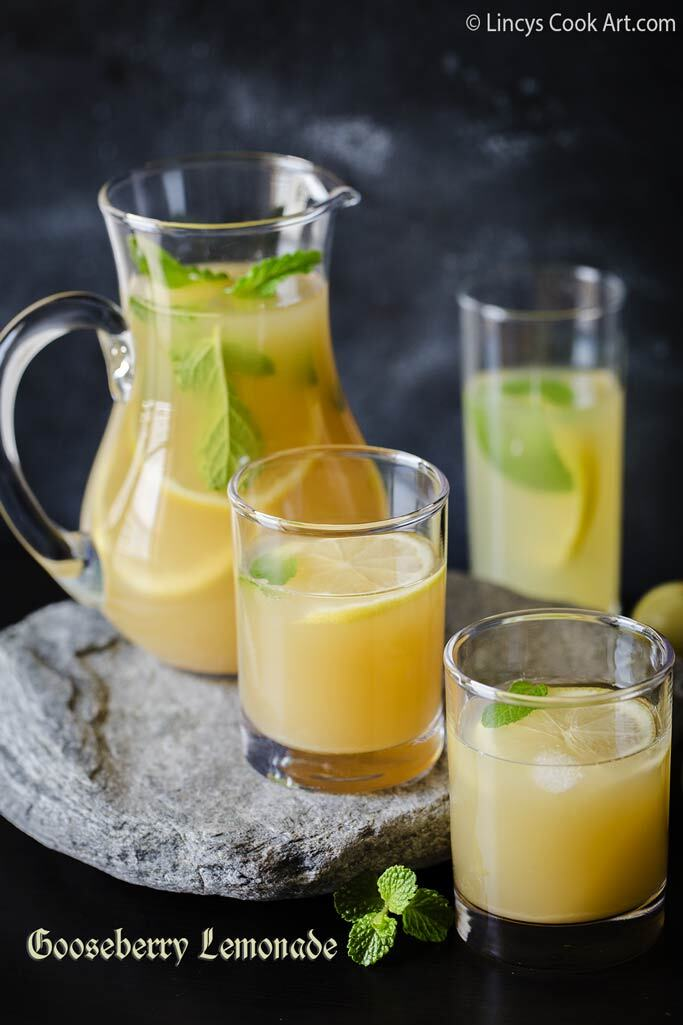 Gooseberry Lemonade| Amla Lemonade