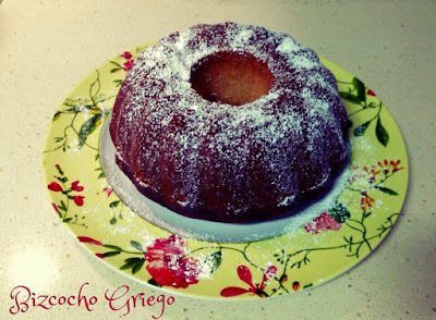 Bizcocho De Yogurt Griego *Thermomix*