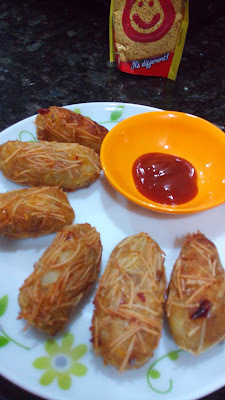 Corn cheese Rolls|Potato cheese corn vermicelli rolls