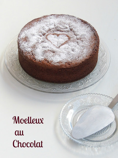 Moelleux au Chocolat/ French Gooey Ooey Chocolate Sponge Cake