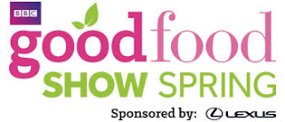 Giveaway #541 : Win 1 of 2 pairs of tickets to BBC Good Food Show Spring (HIC Harrogate 8-10th April) - closing date 22/3