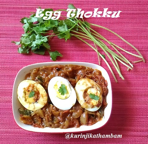 Egg Thokku | Egg Recipes