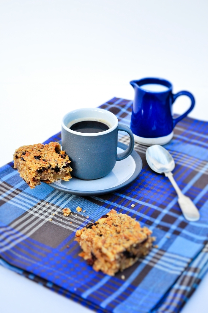 Scottish Oaty Walnut and Raisin Flapjacks