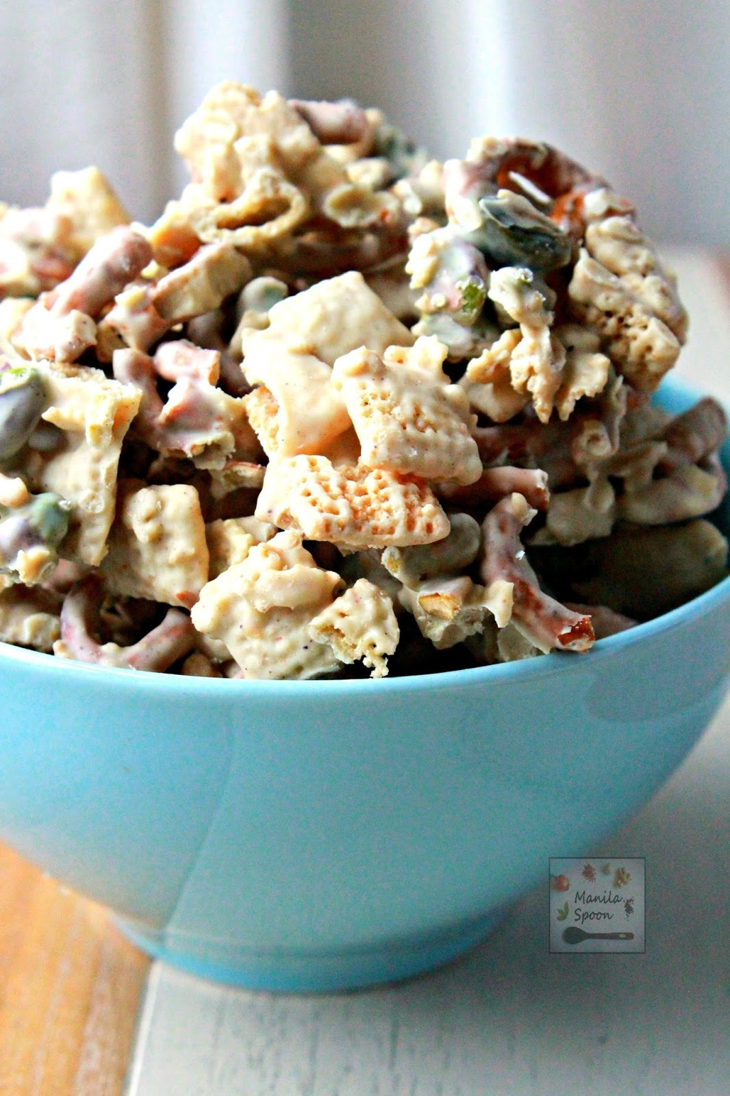 White Chocolate Chex Party Mix