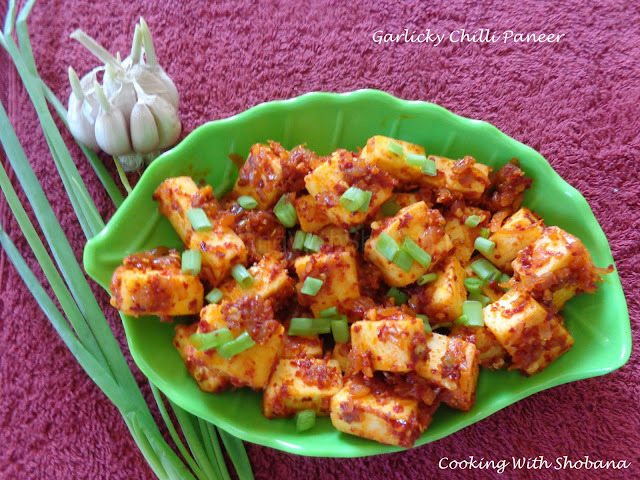 GARLICKY CHILLI PANEER