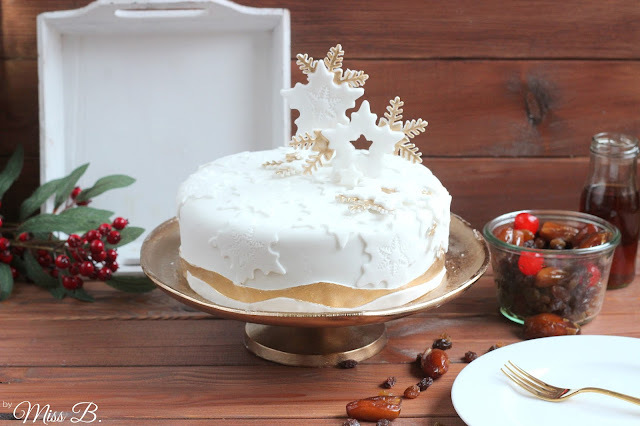 Irish Christmas Cake mit Kerrygold