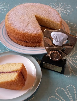 Tips for a village show winning Victoria Sponge