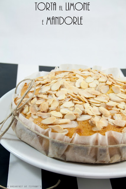 Torta al limone e mandorle / Lemon & almonds cake recipe