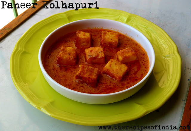 Paneer Kolhapuri | How to Make Kolhapuri Style Paneer Gravy