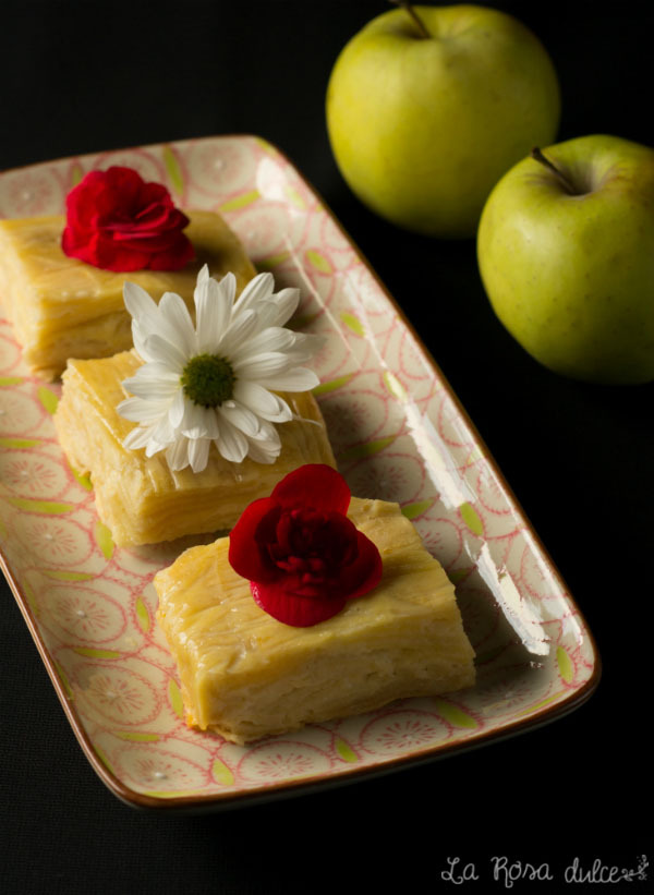 Tarta de manzana light