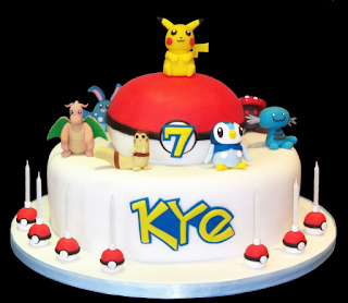 Pokemon Cake gallery