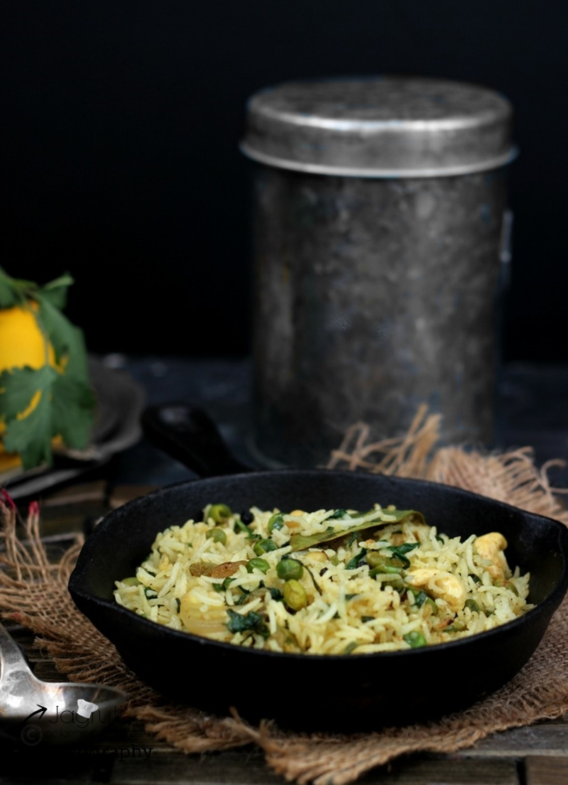 Indian Winter Vegetable Pulao / Pilaf