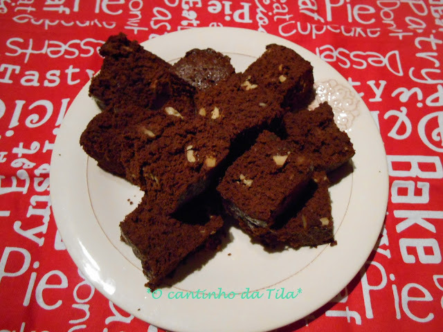 Brownie no microondas