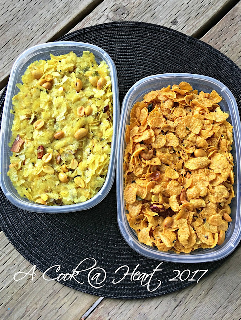 (Cornflakes) Chivda for colleagues