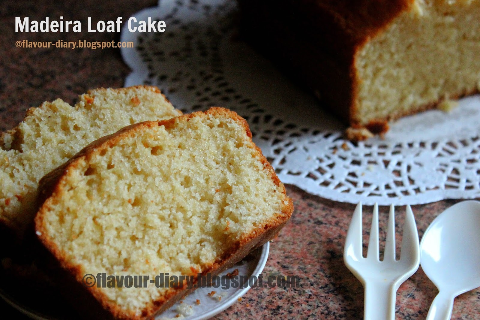 Madeira loaf cake | Flavour Diary