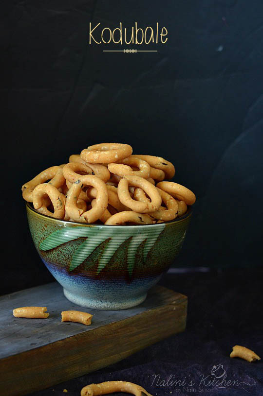 Kodubale /Crispy Rice flour Rings - Version 2