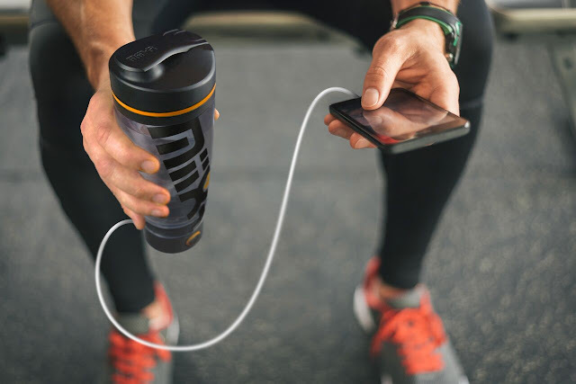 MiiXR Vortex Mixer - Charges your Devices while you Workout