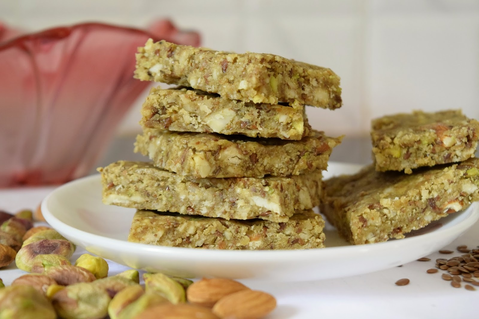 Mixed nuts chikki/ Mixed nuts brittle ~~ Holi recipes