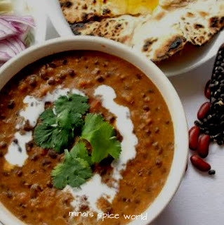 Black urad dal ( Dal Makhani) in crockpot