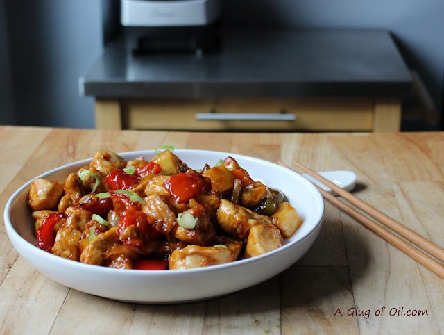 Tefal ActiFry Recipe - Slightly Spicy Sweet and Sour Chicken