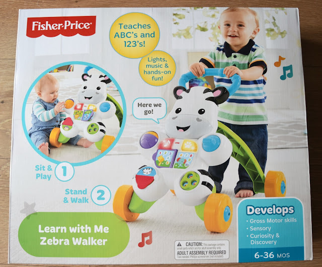 Fisher Price Learn With Me Zebra Walker | A Review