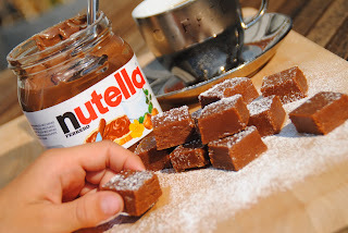 Nutellafudge