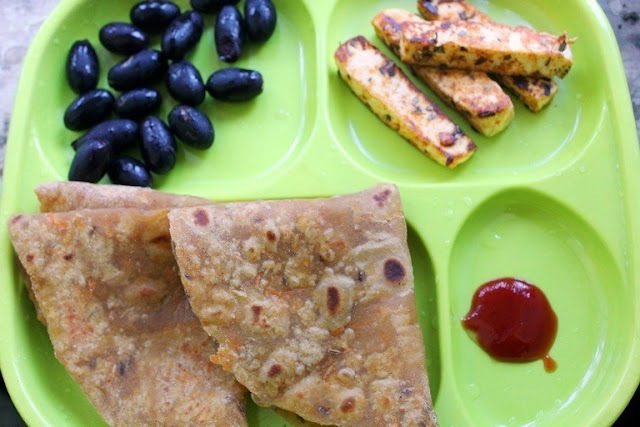 Carrot Chapati for Toddlers & Kids
