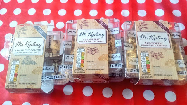 Exceedingly Good Mr Kipling Slices and giveaway