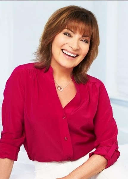 Lorraine Kelly announced as new face of Avon Anew