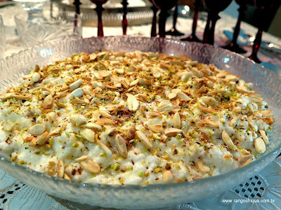 Arroz doce indiano - Kheer