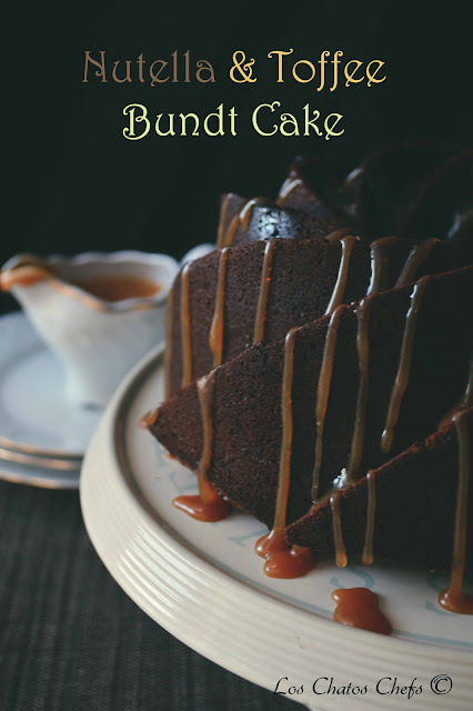 Nutella y Toffee Bundt Cake- #BundtBakers