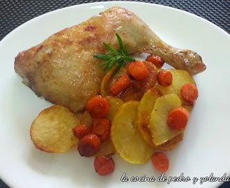 Recetas de cuartos traseros de pollo al horno mytaste for Cuartos traseros de pollo