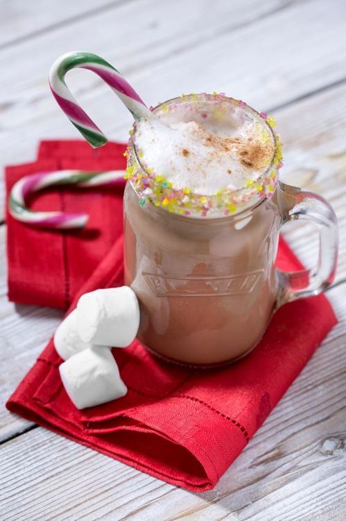 Peppermint Marshmallow Hot Chocolate in Your Favourite Kilner Jar