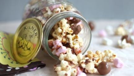 Kilner Rocky Road Popcorn Makes Movie Nights Magical