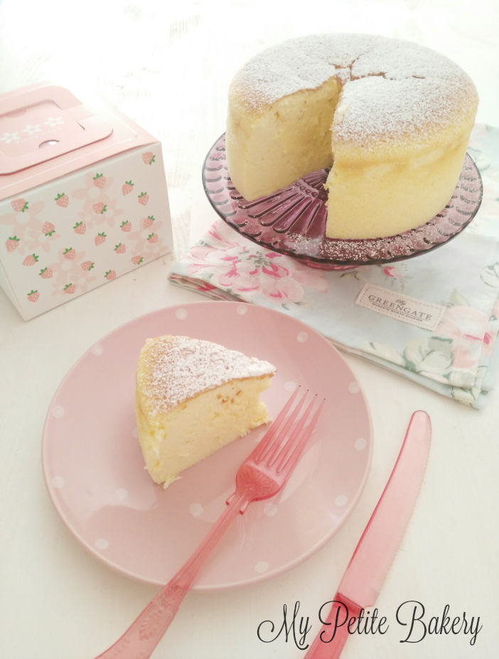 Tarta de Queso Japonesa ♥ Japanese Cotton Cheesecake