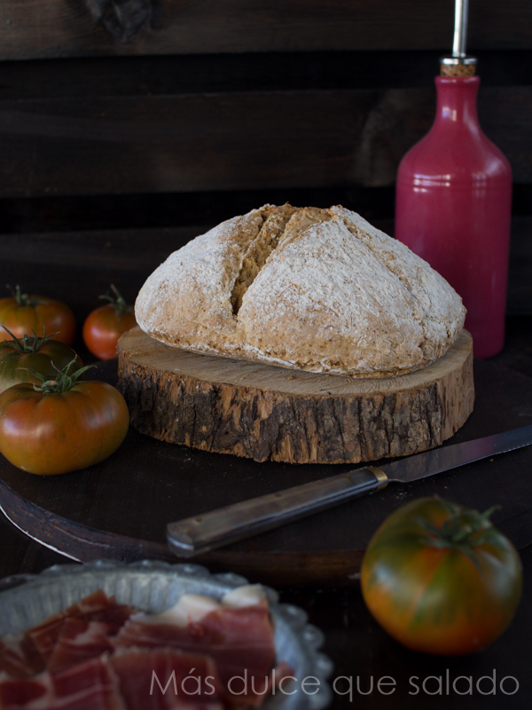 Pan de soda irlandes.Irish Soda Bread