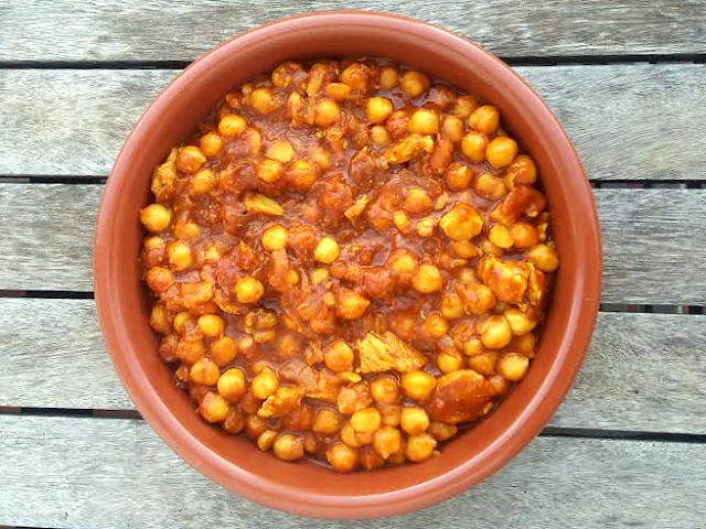 Garbanzos Indios con Pollo (Amristary Cholley)