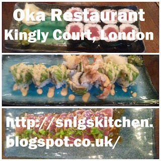 Oka Restaurant, Kingly Court, London
