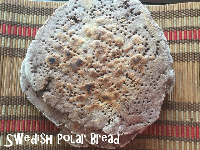 Swedish Polar Bread #BreadBakers