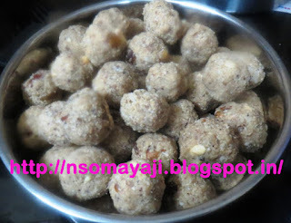 Oats & Dates Laddu