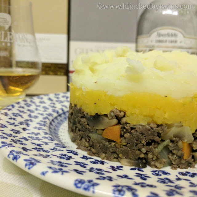 Haggis Cottage Pie and My Top 6 Whiskies for Burns Night