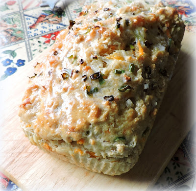 Beer Cheese & Onion Bread