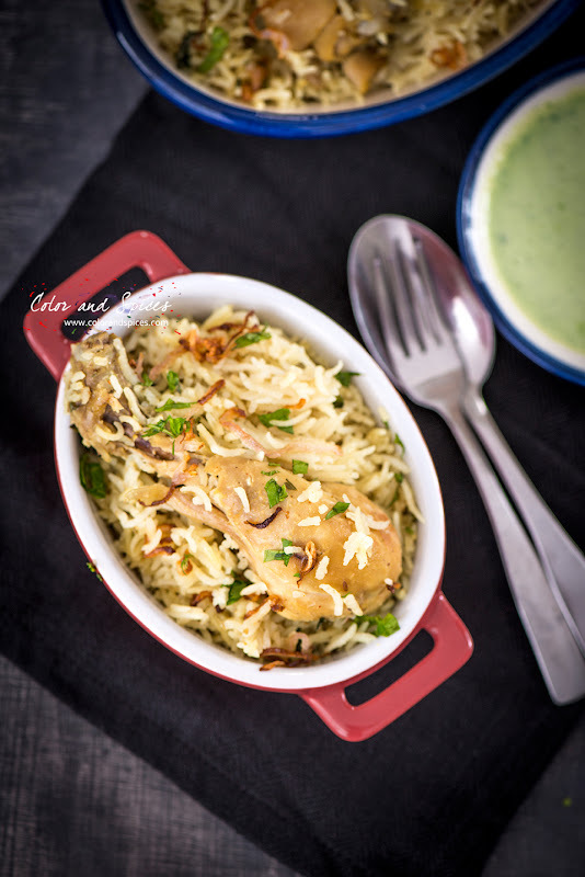 Chicken pulao...