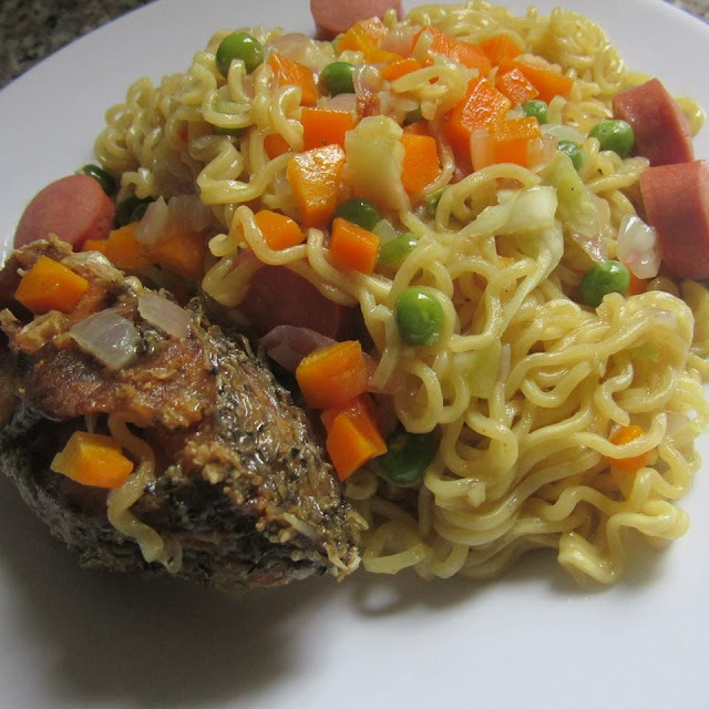 Recipe: Fried Indomie Noodles