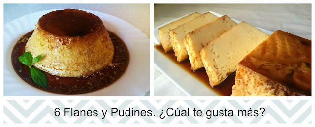 Flanes y Pudines
