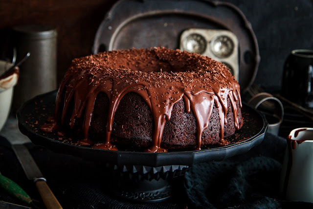 Oh So Decadent Boozy Chocolate Sultana Cake