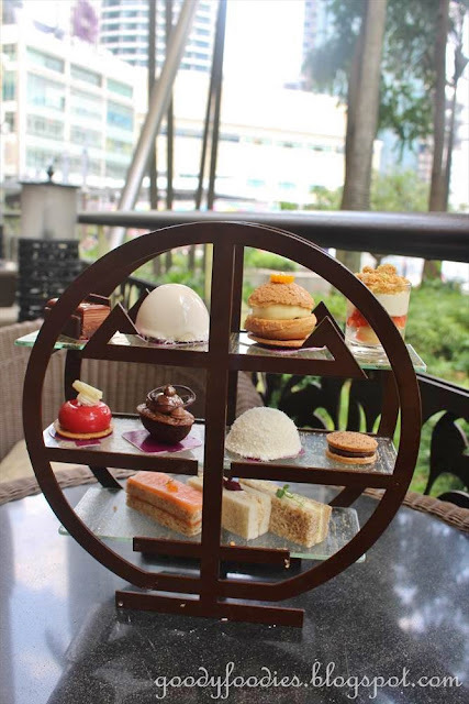 Andres Lara at Mandarin Oriental KL - Afternoon Tea