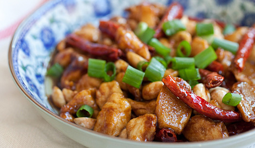 Chinese Food And Recipes : Kung Pao Chicken Special