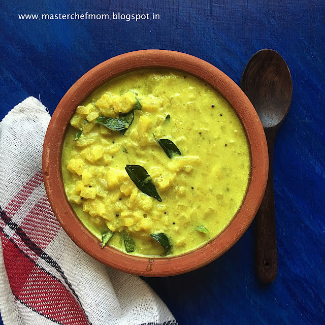 Vazhaithandu Mor Kootu Recipe  | Banana Stem Buttermilk Curry